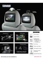 AV7900 Headrest Entertainment system