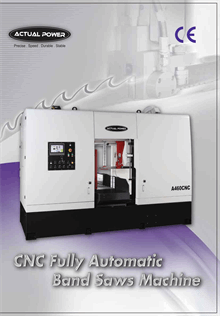 CNC Fully Automatic Band Saw Machine