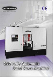 CNC Fully Automatic Band Saw Machine