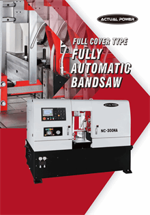 Full Cover Type Fully Automatic Band Saw
