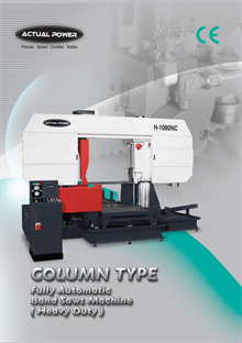 Fully Automatic Band Saw Machine Heavy Duty