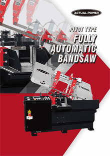 Pivot Type Fully Automatic Band Saw