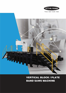Vertical Block Plate Band Saw Machine