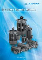 IE2 V1V3 Spindle motors