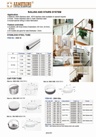 Railings and stairs system