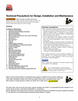 7_Technical_precautions_for_design_installation_and_maintenance