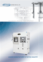 EKT 2001OZ Automatic Ozone Test Chamber Series
