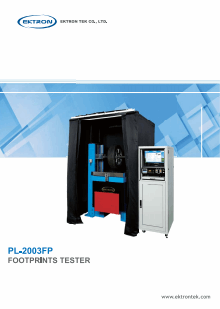 PL-2003FP FOOTPRINTS TESTER