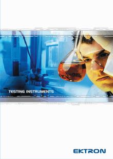 Testing Instruments en