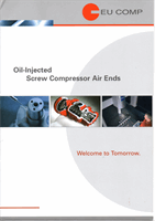 Oil Injected Screw Compressor Air Ends