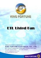 Etl-listed-fan