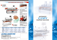 Automatically copy shaping machine