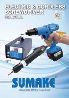 Electric Cordless Screwdriver (FEC1403)